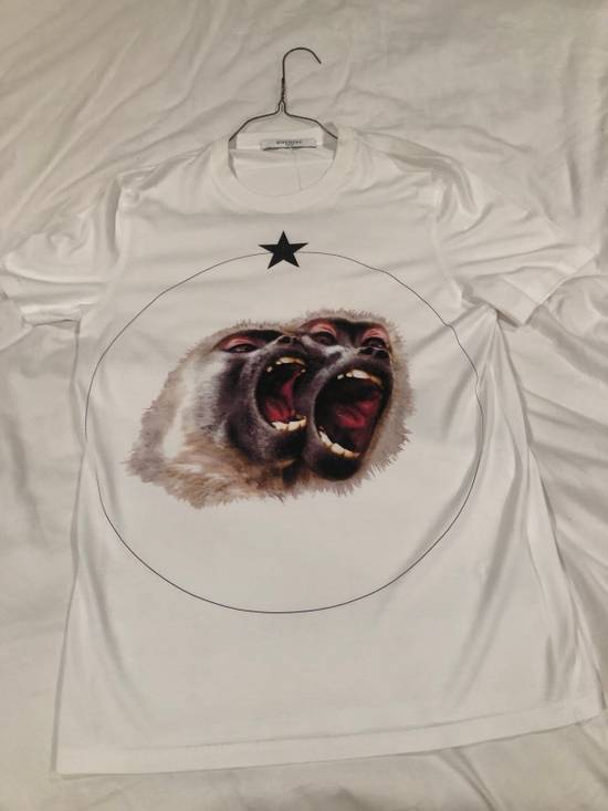 Givenchy White Monkey Brothers T-Shirt Size US S / EU 44-46 / 1 - 4