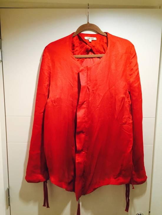 Damir Doma Red Draped Jacket Size 48 Size US M / EU 48-50 / 2 - 1