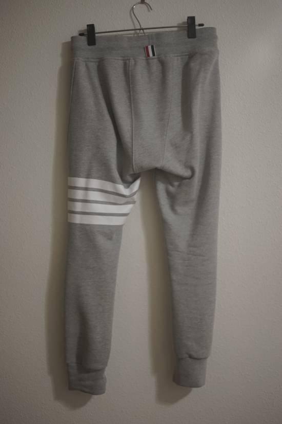 Thom Browne Iconic Cotton Four Stripe Bar Jogger Size US 30 / EU 46 - 1