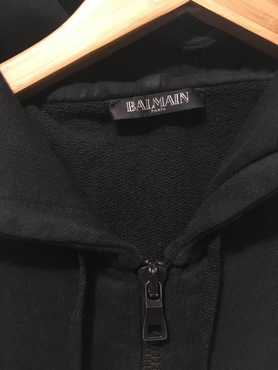Balmain SS12 Sleevless Hoodie Size US XS / EU 42 / 0 - 1