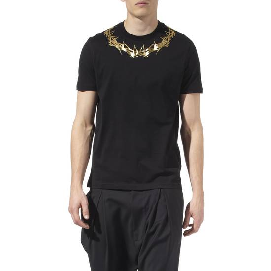 Givenchy Givenchy Black Crown of Thorns Print Rottweiler Shark Cuban Fit T-shirt size L (M) Size US M / EU 48-50 / 2 - 2