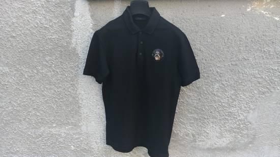 Givenchy Givenchy Black Rottweiler Patch Slim Fit Polo Shirt T-shirt size L (M) Size US M / EU 48-50 / 2