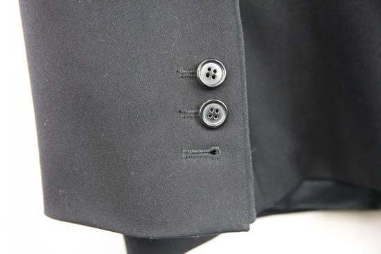 Balmain $2500 Balmain Slim Black One Button Wool Blazer Jacket Blouson Sz 50 48 M Medium Size 40R - 3