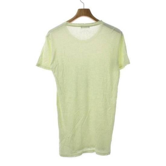 Balmain Pale Yellow Classic Distressed T-Shirt Size M Size US M / EU 48-50 / 2 - 1