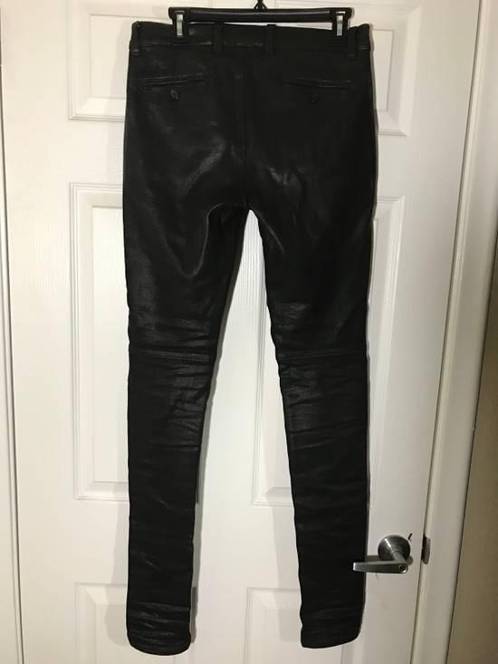 Balmain Skinny Fit Coated Denim Size US 29 - 2