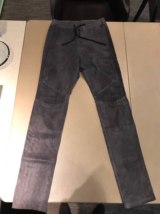 Balmain Balmain Leather Sweatpants / Leggings / Pants Size US 30 / EU 46