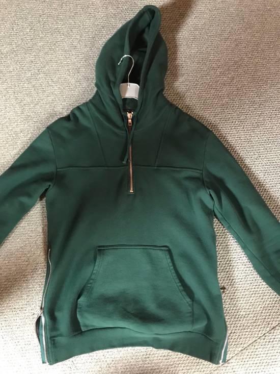 Balmain Balmain Green Forest Hoodie Zipped Size US M / EU 48-50 / 2