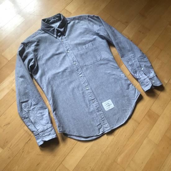 Thom Browne Oxford Classic Shirt Sz.2/M rare grey Size US M / EU 48-50 / 2 - 4