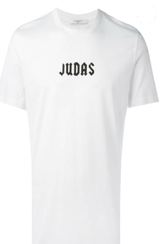 Givenchy New Givenchy Men's White Judas T'shirt Size US L / EU 52-54 / 3