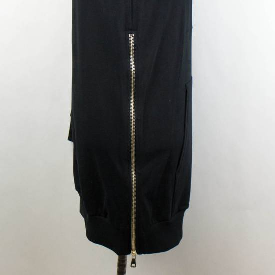Balmain Men's Black Cotton Embroidered Long Hooded Sweater Size Large Size US L / EU 52-54 / 3 - 3