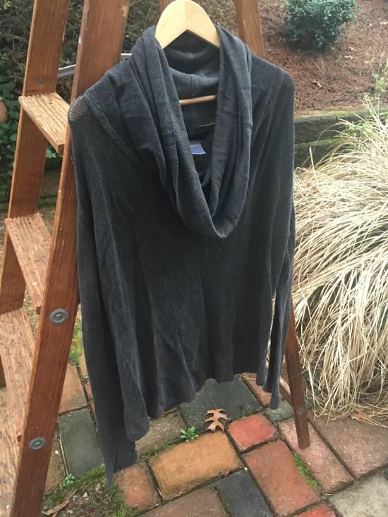 Julius SS08 Grey Yarn Cowl Neck Knit Sweater Size US M / EU 48-50 / 2 - 1