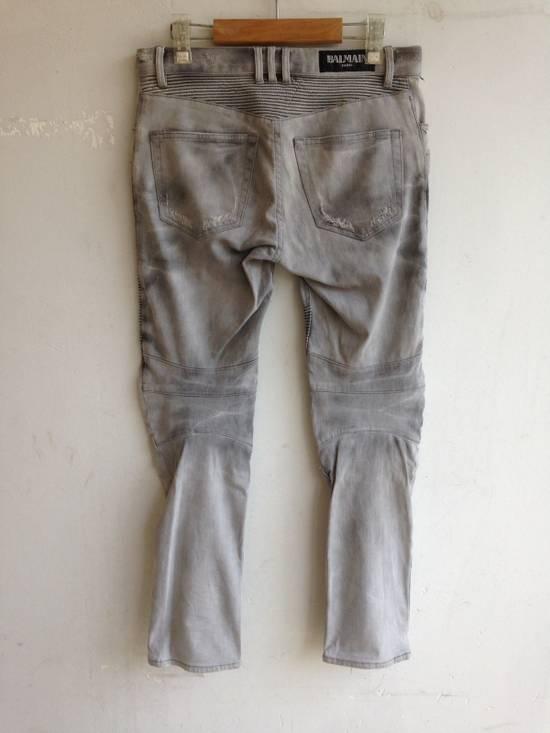Balmain Balmain Biker Jeans Size US 32 / EU 48 - 9