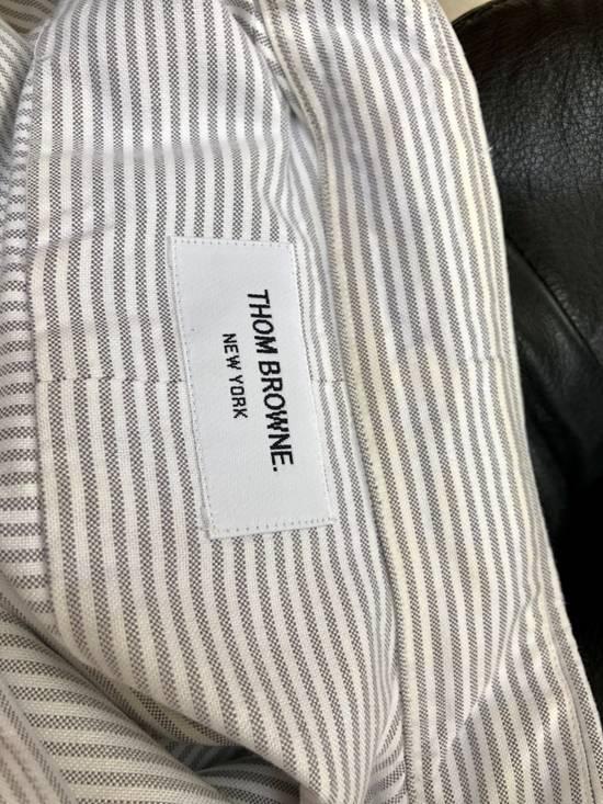 Thom Browne *Final Drop* Button Down Striped Dress Shirt Size US XXL / EU 58 / 5 - 6