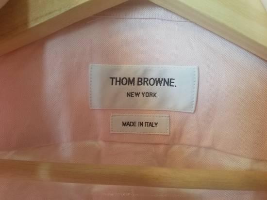 Thom Browne Pink Diagonal line Shirts SS17 Size US M / EU 48-50 / 2 - 3