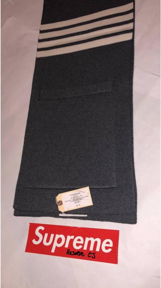 Thom Browne Grey Pocket Scarf Size ONE SIZE - 2