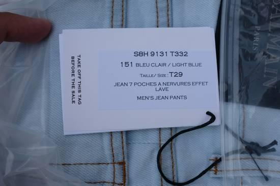 Balmain Light Blue Biker Jeans Size US 29 - 10