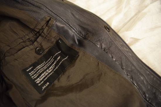 Julius SS12 Grey Leather Jacket Size US S / EU 44-46 / 1 - 2