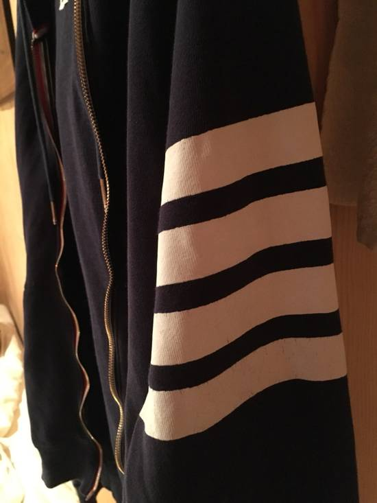 Thom Browne Thom Browne Classic Striped Navy Blue Hoodie Size US L / EU 52-54 / 3 - 3