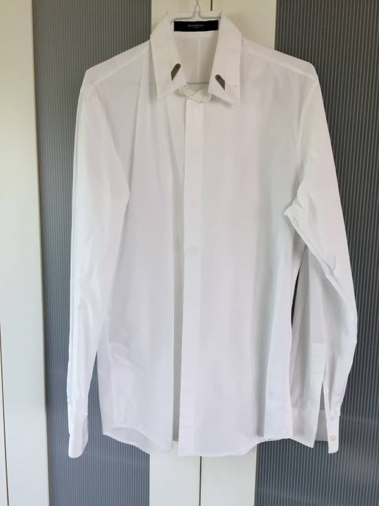 Givenchy Classical white Shirt with branded collar stiffener Size US S / EU 44-46 / 1