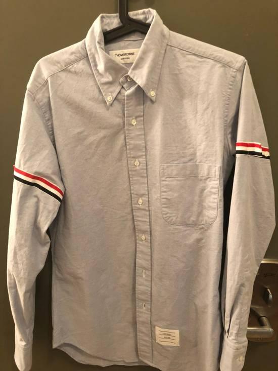 Thom Browne Thom Browne Brand New Oxford Armbanded Shirt Brand New Size US M / EU 48-50 / 2