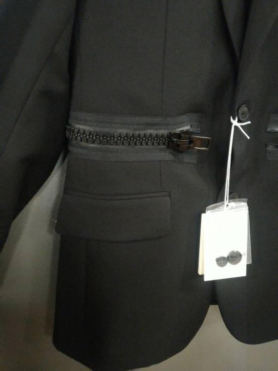 Givenchy 46-48 Zipped Blazer Mohair & Wool Jacket Size US M / EU 48-50 / 2 - 5
