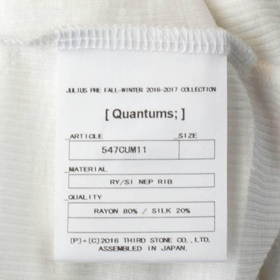 Julius 7 White Silk Blend Long Ribbed Tank Top T-Shirt Size 4/L Size US L / EU 52-54 / 3 - 5
