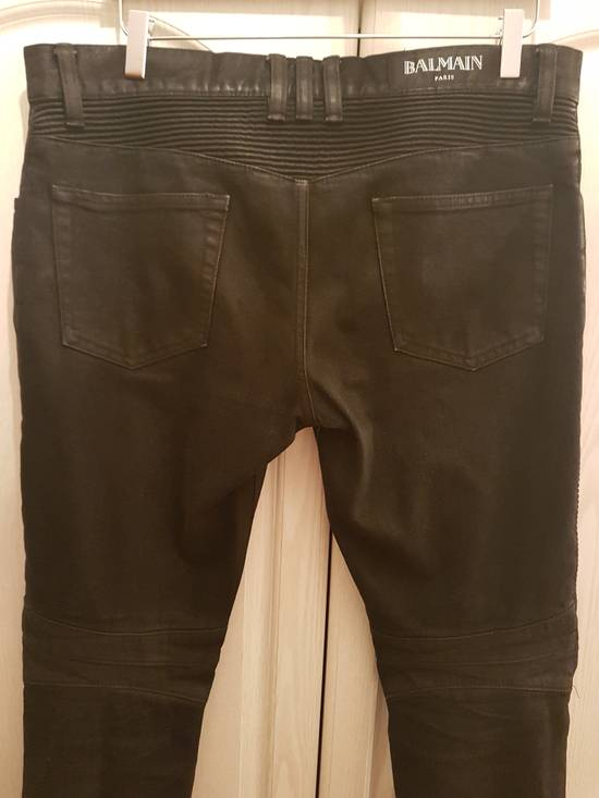 Balmain Balmain waxed black denim used w32 Size US 32 / EU 48 - 1