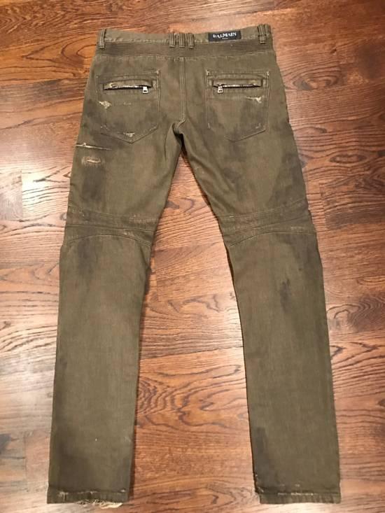 Balmain Balmain Biker Denim Jeans Size US 34 / EU 50 - 4