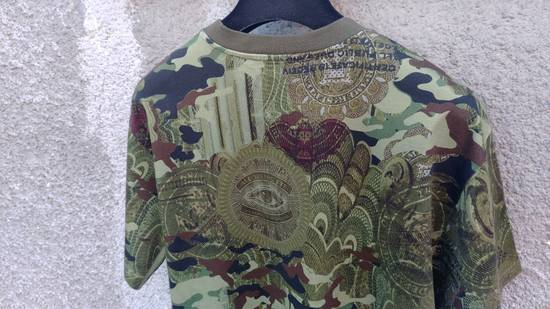 Givenchy $835 Givenchy Camouflage Eye Rottweiler Madonna Oversized T-Shirt size S (L / XL) Size US L / EU 52-54 / 3 - 9