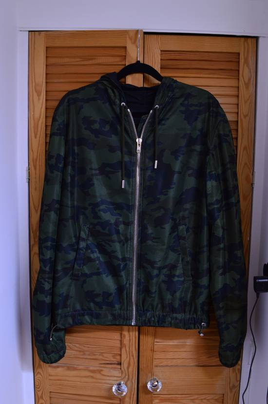 Givenchy Givenchy camo perforated zip-up hooded jacket Size US S / EU 44-46 / 1