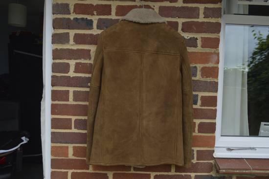 Saint Laurent Paris Hedi's Personal Suede and Shearling Coat Size US S / EU 44-46 / 1 - 7