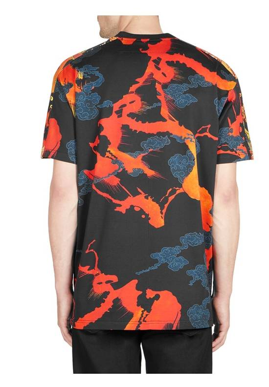 Givenchy Givenchy Cuban Fit Hells Fire T Shirt Size US M / EU 48-50 / 2 - 1