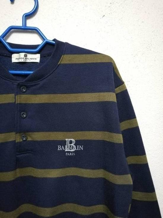 Balmain Pierre Balmain Half Button Sweatshirt Sweater Size US M / EU 48-50 / 2