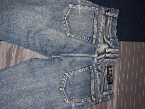 Balmain Balmain Distresses Biker Jeans Size US 31 - 4