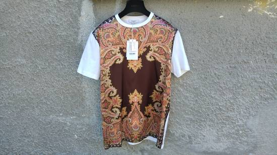 Givenchy $685 Givenchy Satin Paisley Floral Birds of Paradise Oversized T-shirt size S (M) Size US M / EU 48-50 / 2