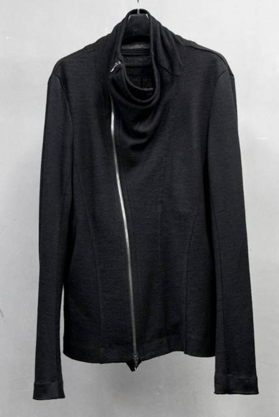 Julius FW12 Cupra/Wool Draped Jacket (sz 2, fits 48) Size US M / EU 48-50 / 2