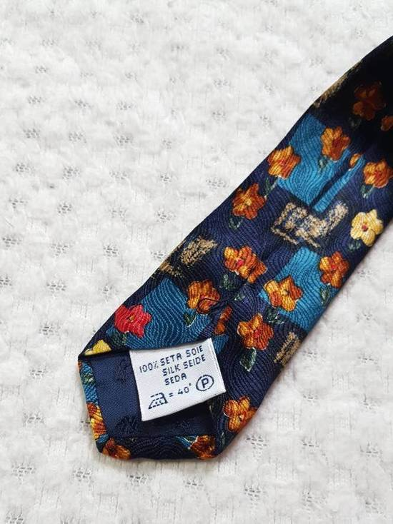 Givenchy GIVENCHY Gentleman Selection Couture Floral Pure Silk Necktie Ties Made in ITALY One Size Size ONE SIZE - 3