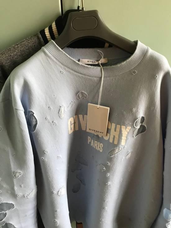 Givenchy Distressed Logo Sweatshirt Size US XL / EU 56 / 4