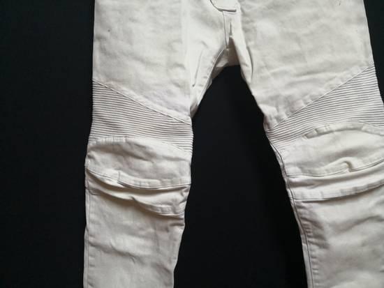 Balmain Balmain Coated biker Jeans Size US 33 - 2