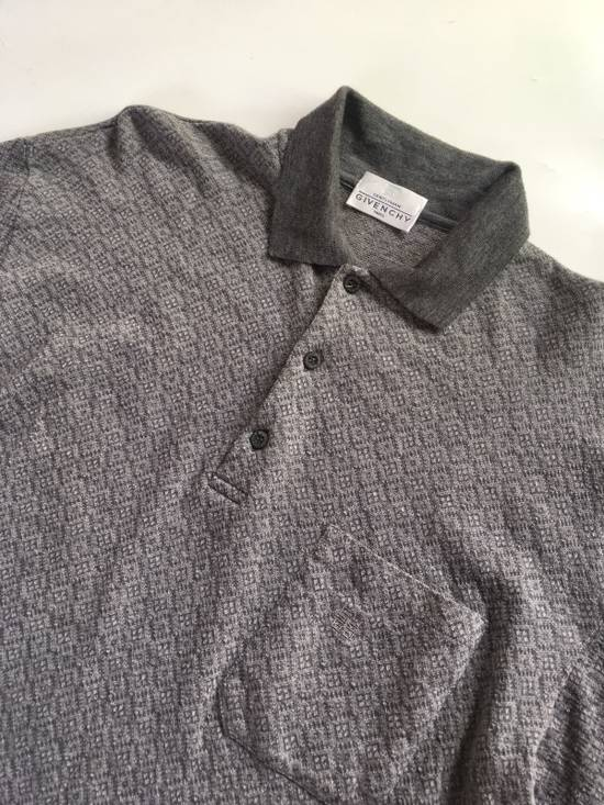 Givenchy Vintage Givenchy Polo Shirt Long Sleeve Wool Made In Italy not gucci supreme louis vuitton fendi balenciaga balmain saint laurent chanel Size US L / EU 52-54 / 3