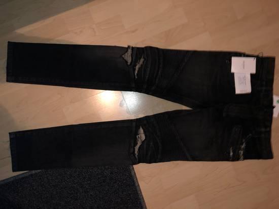 Balmain Destroyed Stretch Biker Jeans Size US 28 / EU 44 - 3