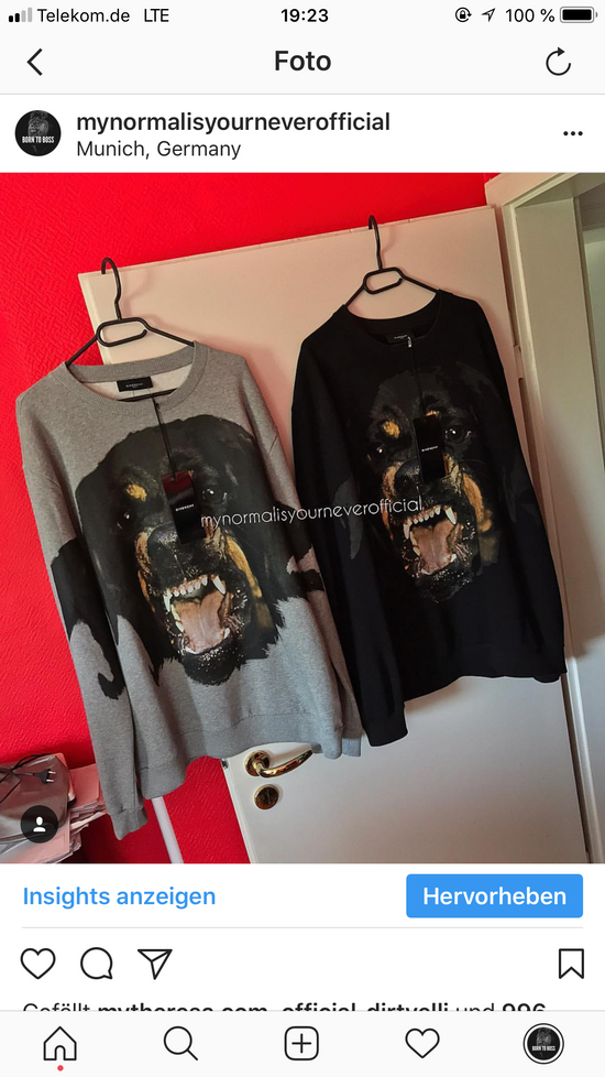 Givenchy Givenchy Rottweiler Size US XL / EU 56 / 4