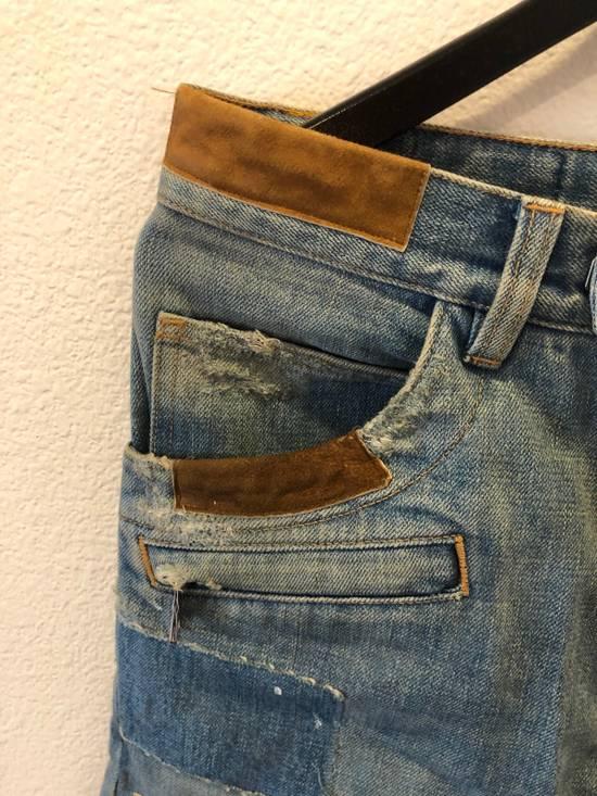 Balmain Patchwork Jeans Size US 30 / EU 46 - 8