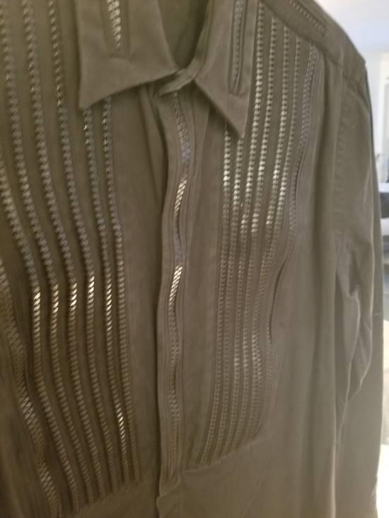 Givenchy Givenchy Zipper Tuxedo Bibb Style Black Shirt Size 40 Euro 15 3/4 Zip Detail Size US M / EU 48-50 / 2 - 2
