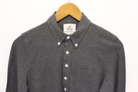 Thom Browne BB0 Long Sleeve Gray Polo Shirt Size US XS / EU 42 / 0 - 1
