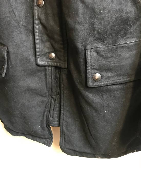 Balmain Decarnin Black Coated Parka Size US M / EU 48-50 / 2 - 3