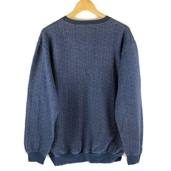 Balmain Vintage Balmain Monogram Blue Sweatshirt Size US L / EU 52-54 / 3 - 2