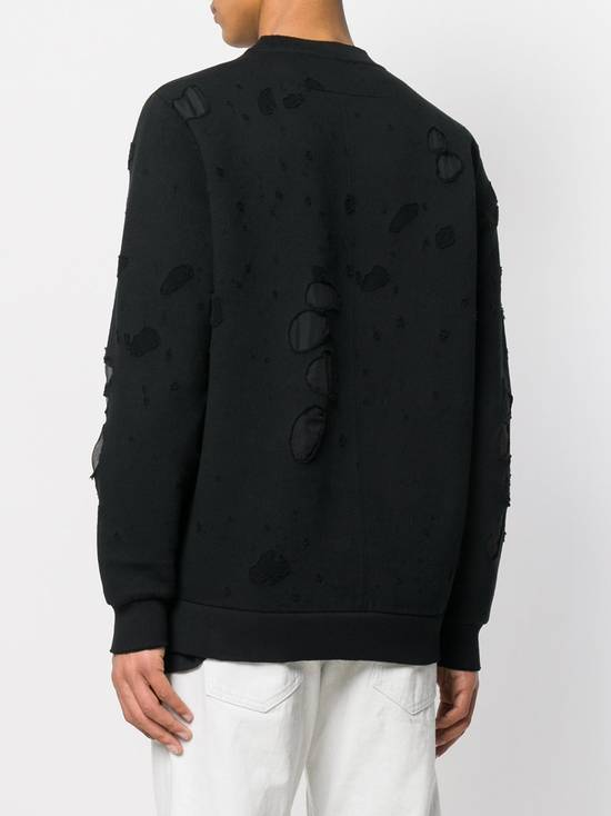 Givenchy $1300 Givenchy Black Destroyed Distressed Logo Rottweiler Shark Sweater size S Size US S / EU 44-46 / 1 - 3