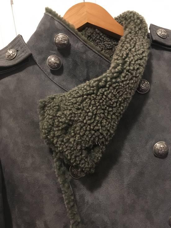 Balmain Shearling Military Coat Size US S / EU 44-46 / 1 - 6