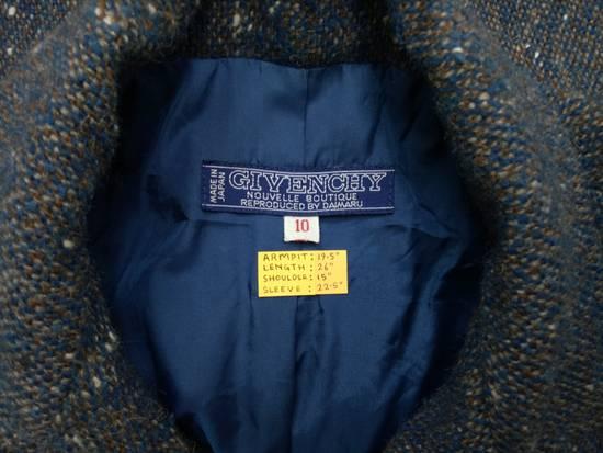 Givenchy 💥LAST DROP🔥[ÑÉÈĎ GÖÑË ŤÔĎĄŸ] Vintage 80's Givenchy Nouvelle Boutique Wool Button Jacket Coat Blazer Rare Size US M / EU 48-50 / 2 - 4